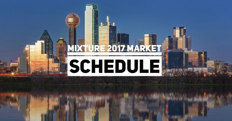 Mixture 2017 Market Schedule